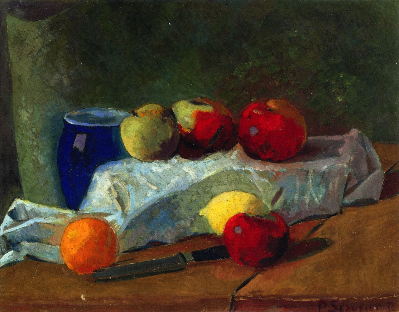Apples and Lemons, 1911